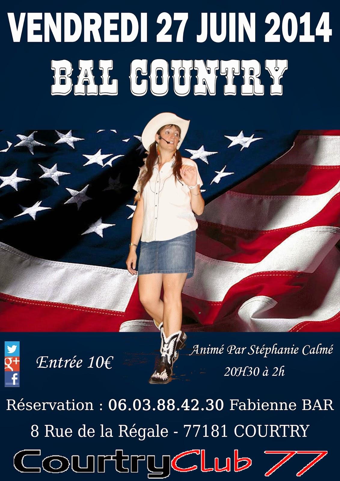 Vendredi 27 juin 2014 &;bal country&;
