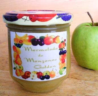 Mermelada de Manzanas Golden