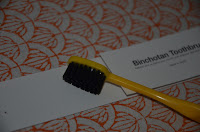 Binchotan Black Bristle Toothbrush 2