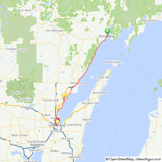 OUR MONTH WITH THE LAKE A Pilgrimage Around Lake Michigan by