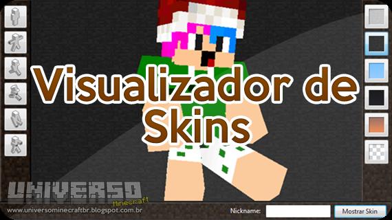 UniversoMinecraft PROGRAMAMinecraft Skin Viewer - Criar skin para minecraft pc