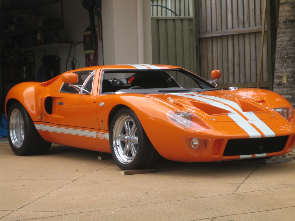 Roy\'s GT40 Project