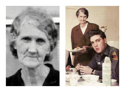 Evlis' grandmother Minnie <b>Mae Presley</b> - Minnie+Presley