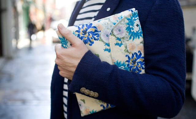 street style london collections men menswear floral clutch