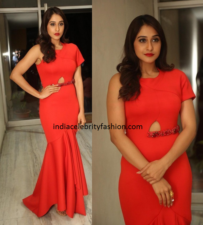 Regina Cassandra in Dolly J Red Gown