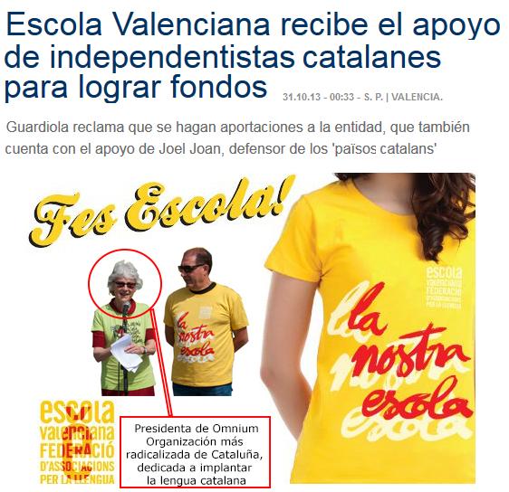 ¿Escola valenciana? ¿Escola catalana? - Círcul Cívic Valencià