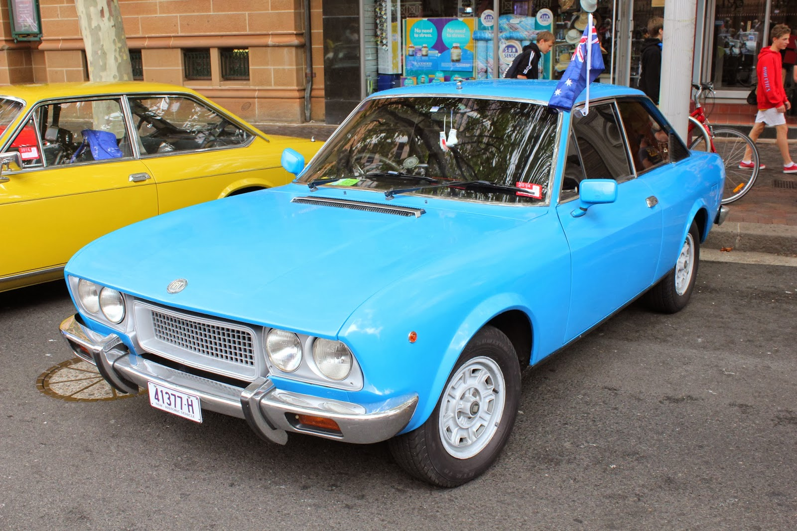 Fiat Of Cc >> Aussie Old Parked Cars 1973 Fiat 124 Sport Coupe Cc