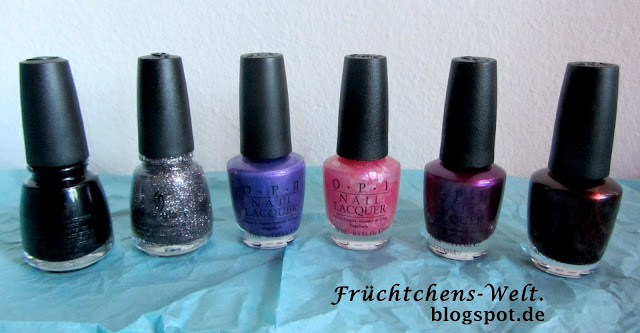 New In China Glaze & OPI