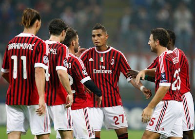 AC Milan 2 - 0 BATE Borisov (2)