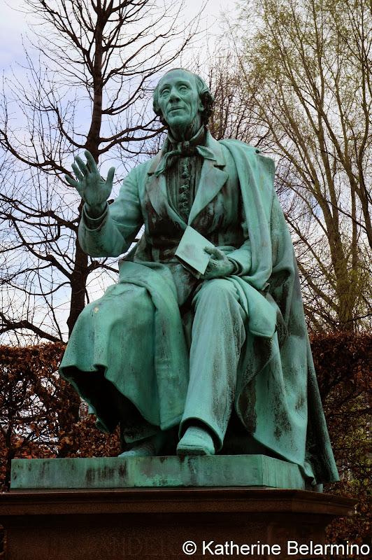 Hans Christian Andersen, Rosenborg Castle, Copenhagen, Denmark