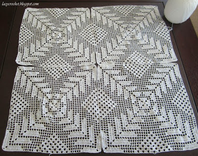 CROCHET PATTERNS FOR RECTANGULAR TABLECLOTHS Crochet ...