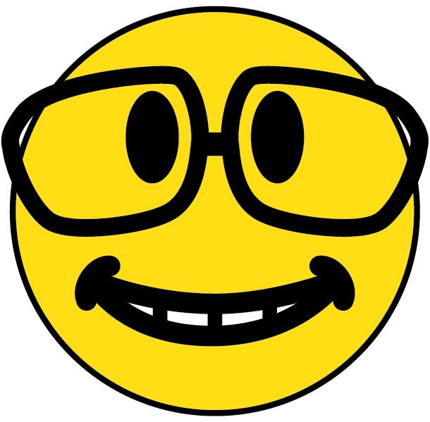 nerd smiley face car interior design