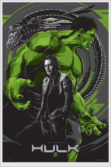 Mondo - Hulk The Avengers Screen Print by Ken Taylor