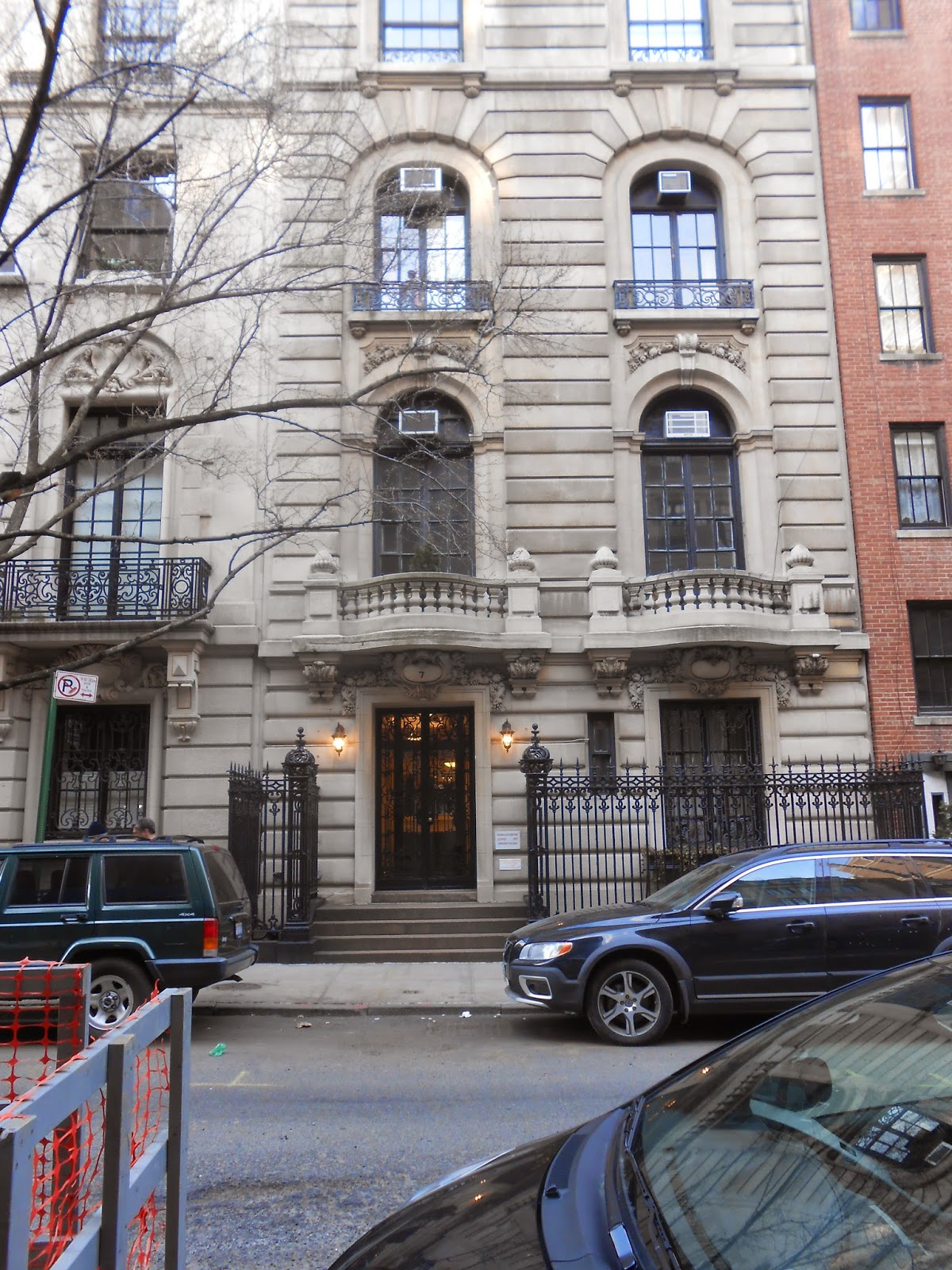 The nanny la mansion maxwell sheffield for Casas en nueva york