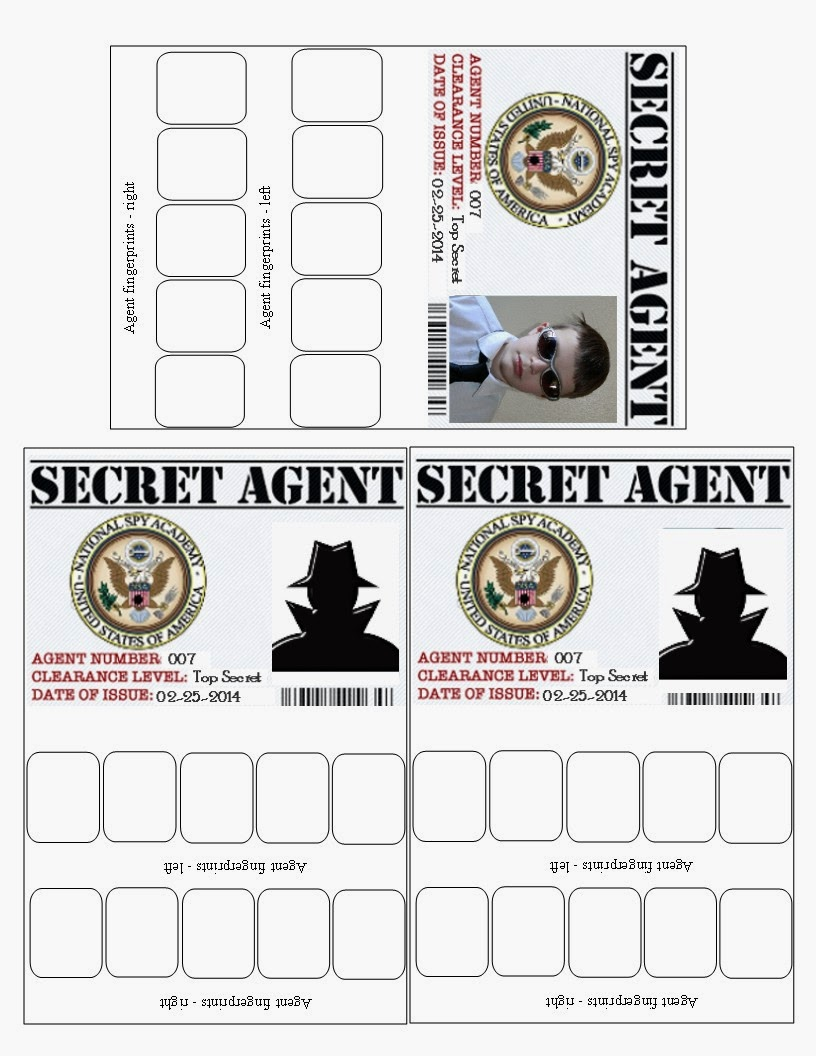 photograph relating to Secret Agent Badge Printable named lauras frayed knot: mystery consultant blue and gold scout meal