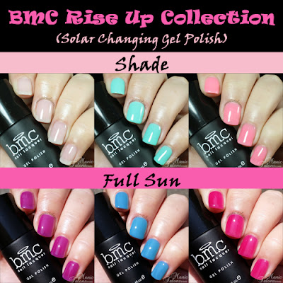 Bundle Monster Rise Up Collection Solar Changing Gel Polish Review