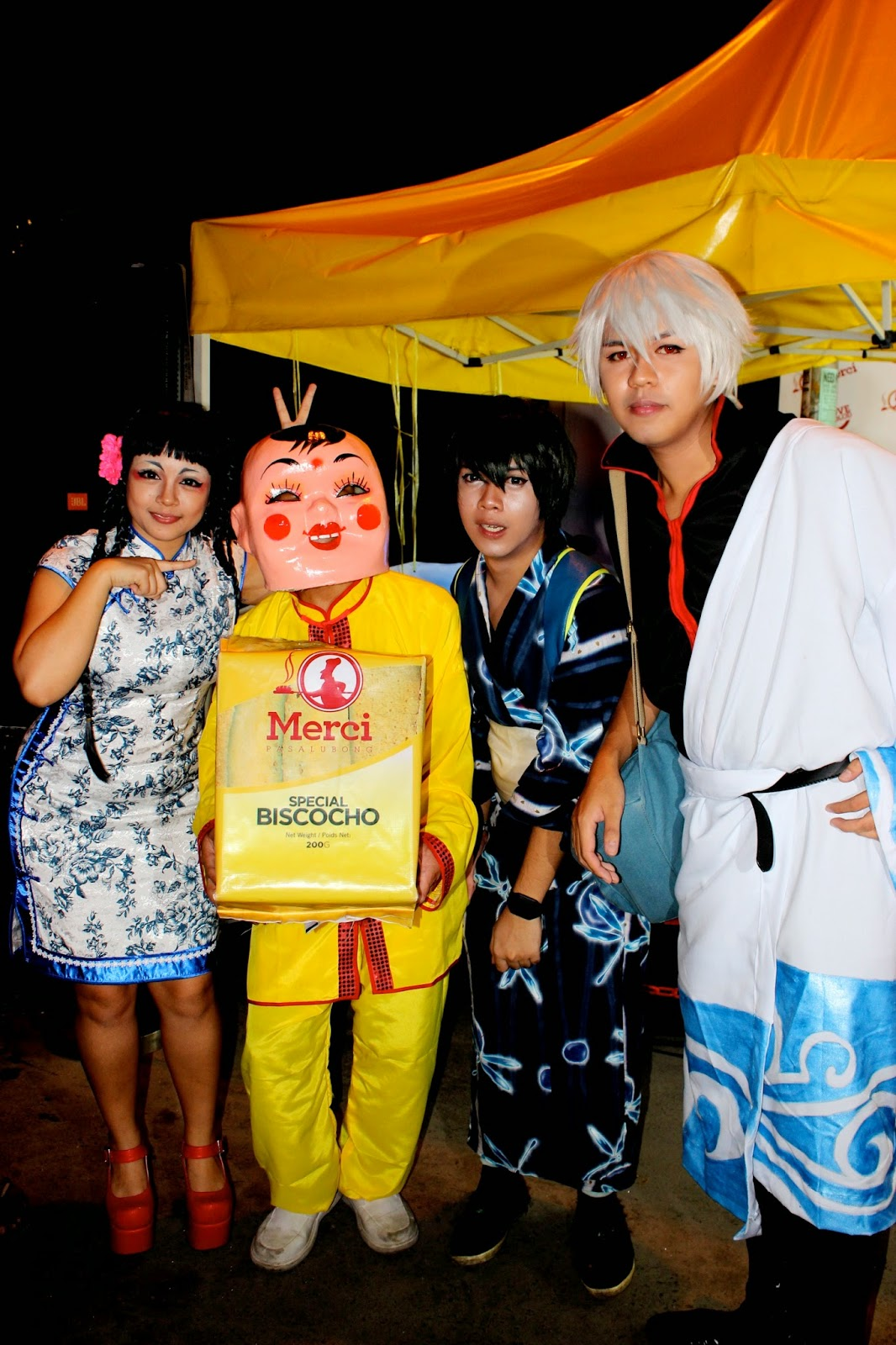 Lara Novales with Team BanKai, Bacolodiat Chinese New Year Cosplay walk