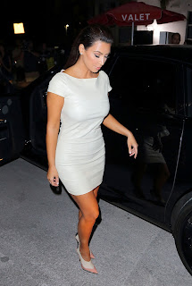 Kim Kardashian mini dress