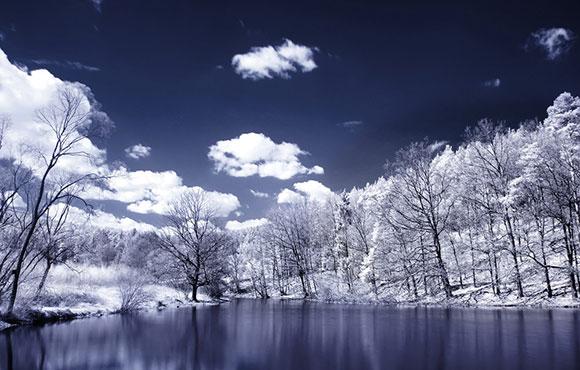 بحيرة من جدران الهدوء , خلفيات ويندوز 7