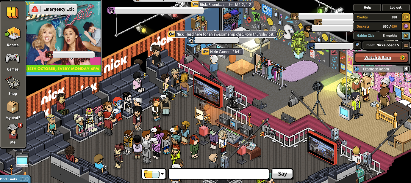 Chat Room Games Like Habbo