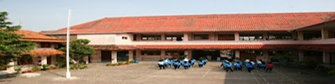 Gedung SMK Veteran di Jalan Pemuda 33 Cirebon