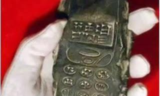 """Παγκόσμιο Σοκ! Βρέθηκε """"κινητό"""" χιλιάδων ετών.... (Βίντεο)"""