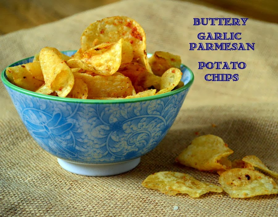 This is How I Cook: Buttery Garlic Parmesan Potato Chips ...