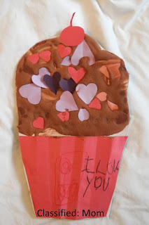 Valentine's Day Kids Craft: Love Cupcake