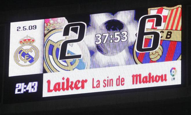 Los 10 mejores partidos del mejor Barça de la historia Marcador%2B2-6%2Ben%2Bel%2BBernabeu