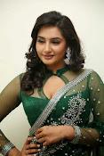 Ragini Dwivedi Glamorous photos in Green Saree-thumbnail-11