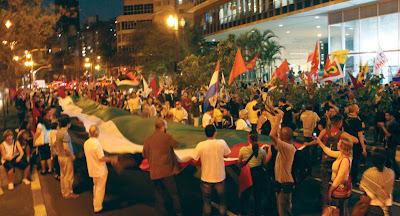 Ato histórico em São Paulo pelo Estado da Palestina Já - foto 16