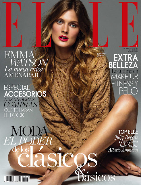 Fashion Model @ Constance Jablonski by Derek Kettela for Elle Spain October 2015