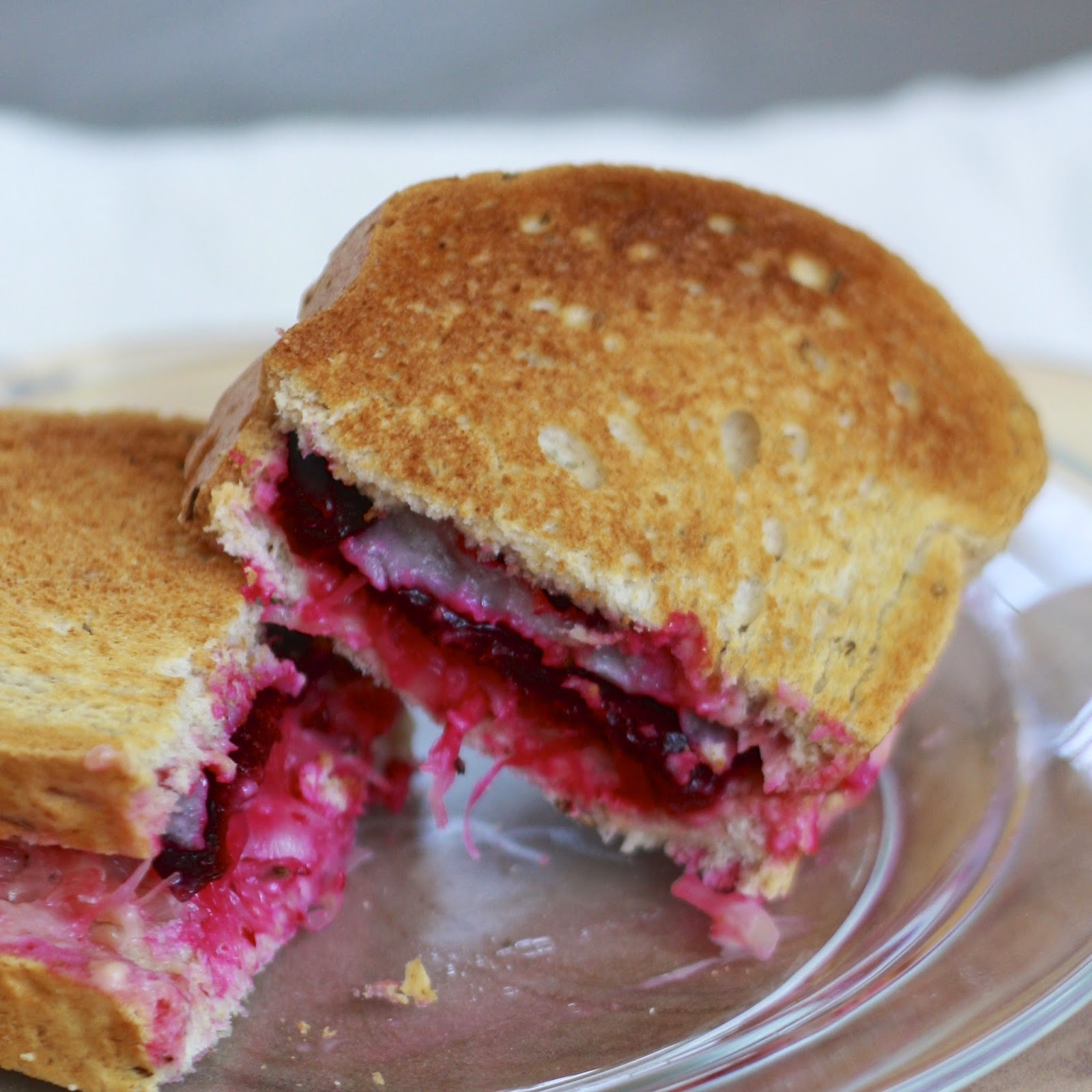 Vegetarian Beet Reubens | The Sweets Life