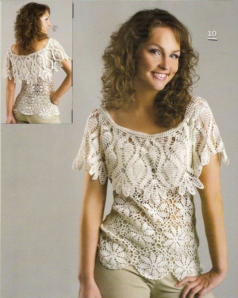 Crochet Patterns Shirts : Share Knit and Crochet: T-shirt For Summer Crochet Pattern