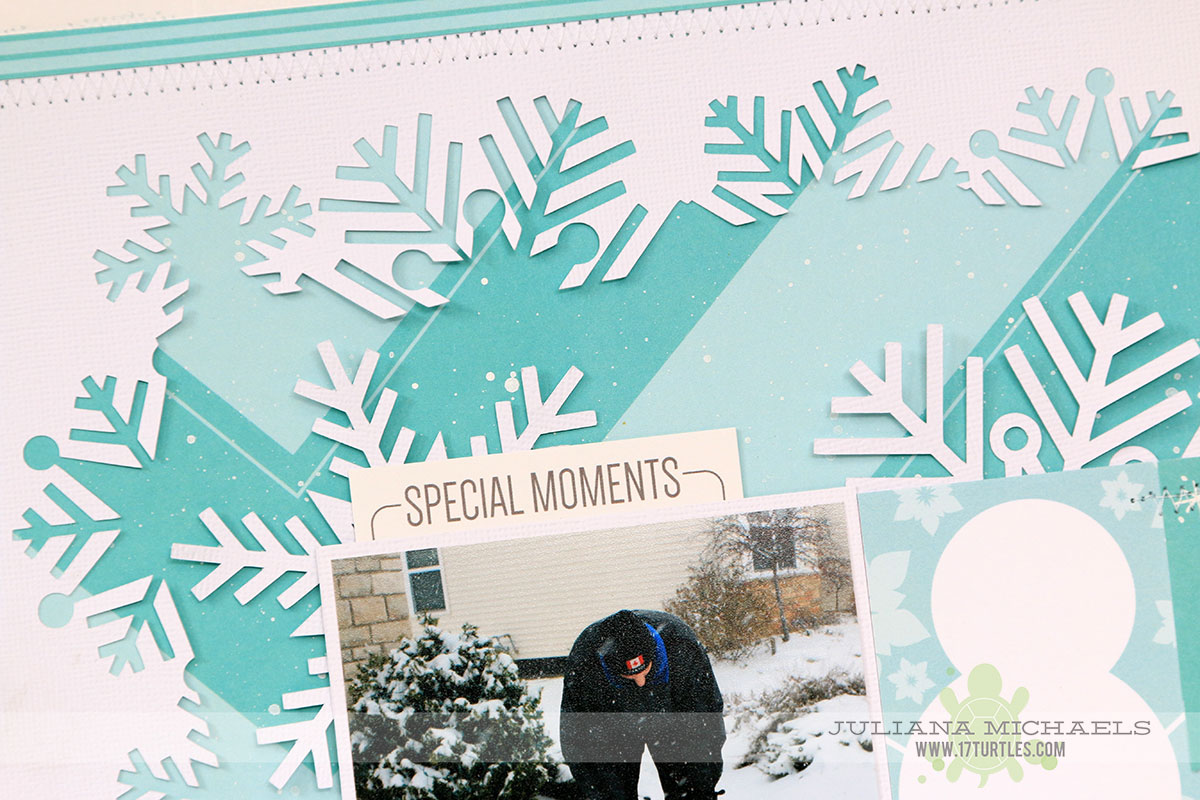 Winter Scrapbook Page Ideas With Digital Cut Files Part 2 17turtles