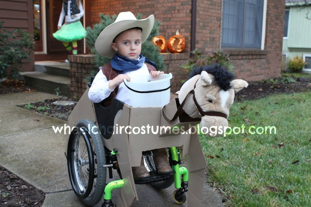 Cowboy on his horse wheelchair costume  sc 1 st  Wheelchair Costumes & Wheelchair Costumes: Cowboy on his horse wheelchair costume
