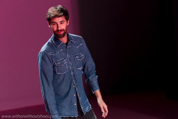 Diseñador valenciano Juan Vidal en la Fashion Week Madrid
