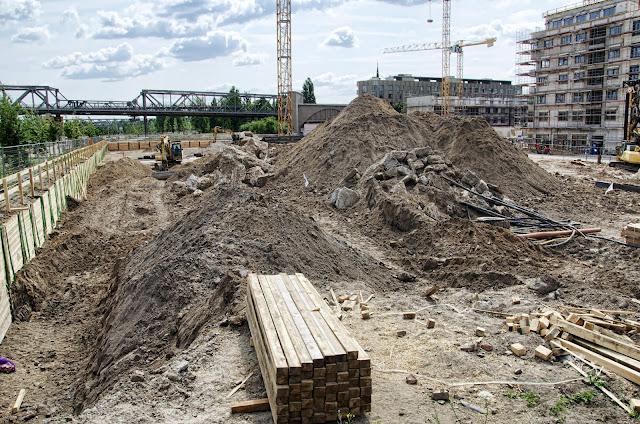 Baustelle Wohnhäuser, WELLDONE, Flott Well Living, Flottwellstraße, 10785 Berlin, 13.07.2013