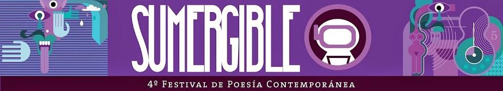 SUMERGIBLE Festival de poesía contemporánea