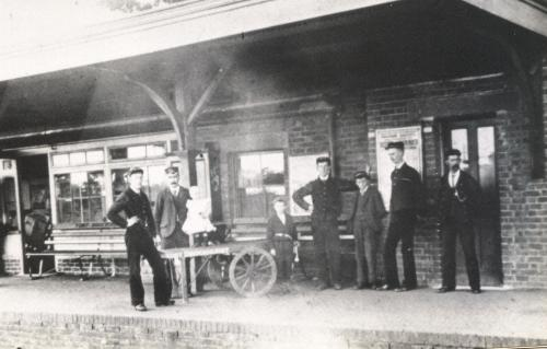 Station Staff at Fort Brockhurst