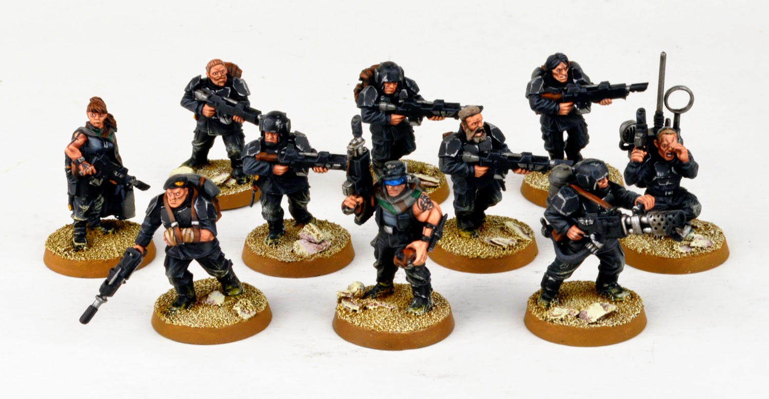 Tanith - Gol Kolea's Platoon, Part Two
