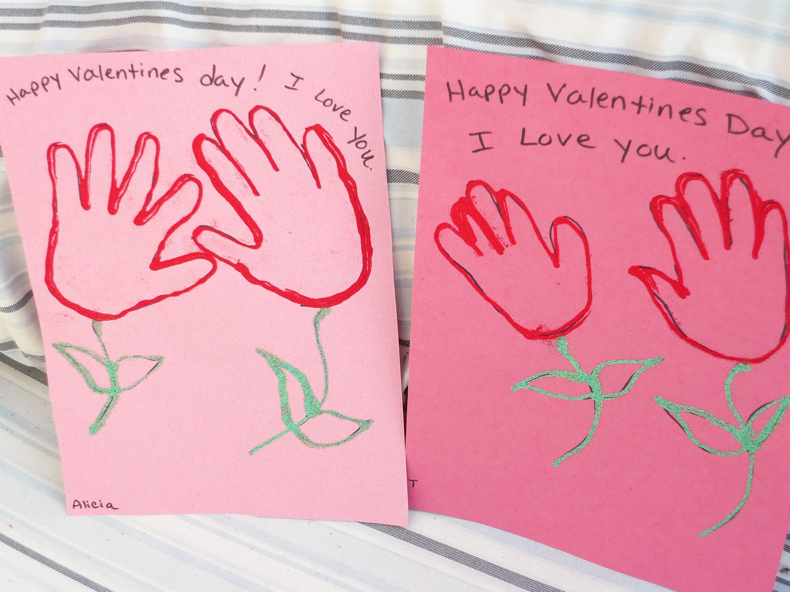 Childcare for Valentines day art and crafts for preschoolers