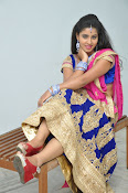 Pavani Gorgeous in half saree-thumbnail-12