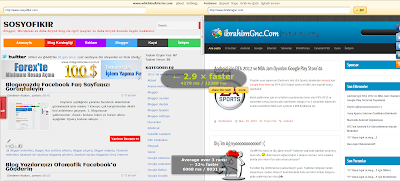 site hızı, blogger hızı, site