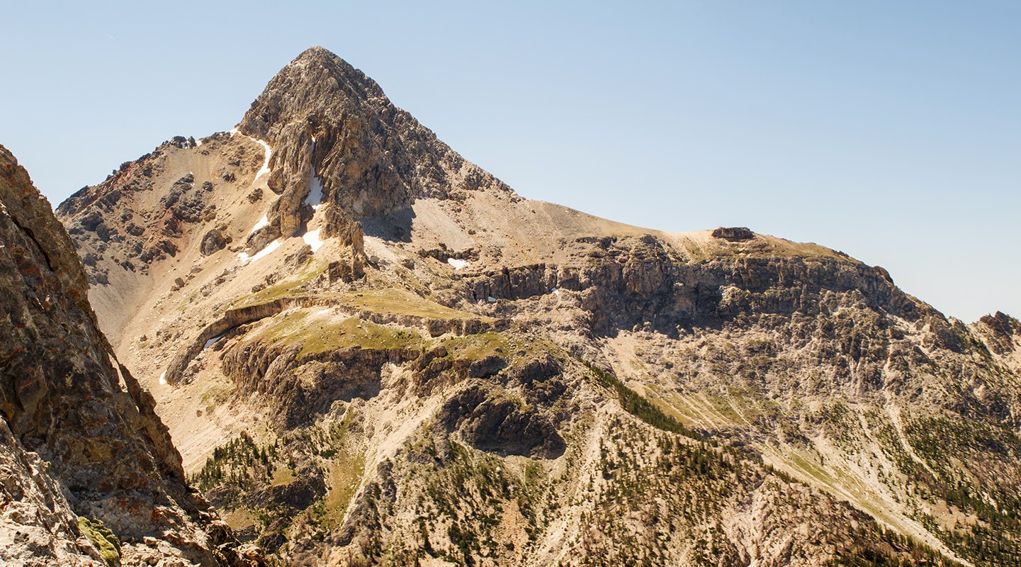 Bell Mountain, Lemhi Range, Idaho