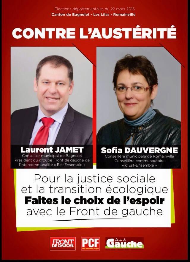 Elections Départementales 22 et 29 mars 2015