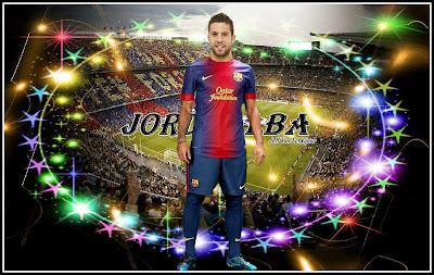 Jordi Alba Wallpaper 2012 - FC Barcelona 2012-2013