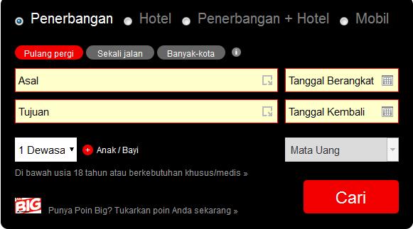 Pesan atau Booking Tiket Air Asia