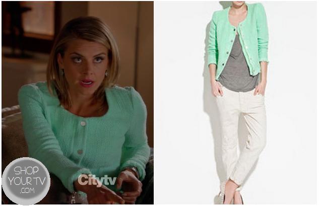 Happy Endings: Season 3 Episode 12 Jane's Mint Green Jacket