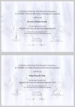 Diplomas ganadores